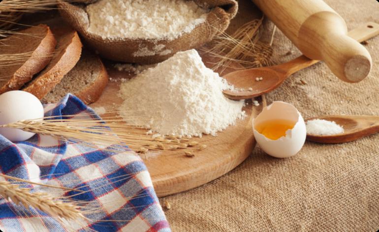 こだわりその3:小麦粉